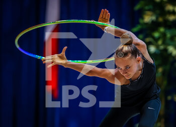 10/10/2020 - Dragas Tara of A.S. Udinese during the Serie A 2020 round 3° at the PalaBancoDesio, Desio, Italy on October 10, 2020 - Photo Fabrizio Carabelli - GINNASTICA RITMICA - CAMPIONATO NAZIONALE SERIE A - GINNASTICA - ALTRO