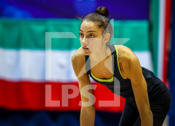 10/10/2020 - Cicconcelli Letizia of Italy Group during the Serie A 2020 round 3° at the PalaBancoDesio, Desio, Italy on October 10, 2020 - Photo Fabrizio Carabelli - GINNASTICA RITMICA - CAMPIONATO NAZIONALE SERIE A - GINNASTICA - ALTRO