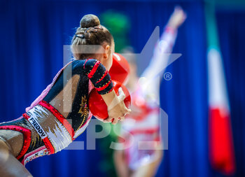 10/10/2020 - Santandrea Martina of Italy Group during the Serie A 2020 round 3° at the PalaBancoDesio, Desio, Italy on October 11, 2020 - Photo Fabrizio Carabelli - GINNASTICA RITMICA - CAMPIONATO NAZIONALE SERIE A - GINNASTICA - ALTRO