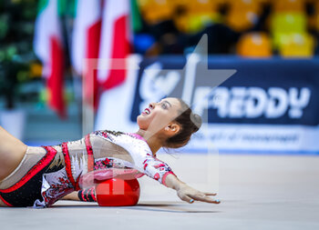 10/10/2020 - Maurelli Alessia of Italy Group during the Serie A 2020 round 3° at the PalaBancoDesio, Desio, Italy on October 11, 2020 - Photo Fabrizio Carabelli - GINNASTICA RITMICA - CAMPIONATO NAZIONALE SERIE A - GINNASTICA - ALTRO