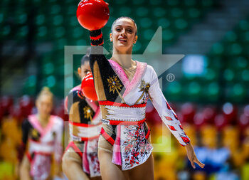 10/10/2020 - Duranti Agnese of Italy Group during the Serie A 2020 round 3° at the PalaBancoDesio, Desio, Italy on October 11, 2020 - Photo Fabrizio Carabelli - GINNASTICA RITMICA - CAMPIONATO NAZIONALE SERIE A - GINNASTICA - ALTRO