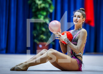 10/10/2020 - Paris Laura of Italy Group during the Serie A 2020 round 3° at the PalaBancoDesio, Desio, Italy on October 11, 2020 - Photo Fabrizio Carabelli - GINNASTICA RITMICA - CAMPIONATO NAZIONALE SERIE A - GINNASTICA - ALTRO