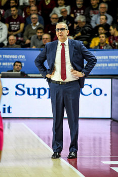 22/01/2019 - Coach Walter De Raffaele - UMANA REYER VENEZIA VS TELEKOM BASKETS BONN - CHAMPIONS LEAGUE - BASKET