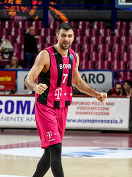 22/01/2019 - Esultanza di Bojan Subotic - UMANA REYER VENEZIA VS TELEKOM BASKETS BONN - CHAMPIONS LEAGUE - BASKET