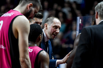 22/01/2019 - Chris O´Shea alla panchina - UMANA REYER VENEZIA VS TELEKOM BASKETS BONN - CHAMPIONS LEAGUE - BASKET