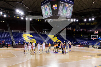 01/10/2020 - General inside view before the Turkish Airlines EuroLeague Basketball match between Fc Barcelona and CSKA Moscow on October 01, 2020 at Palau Blaugrana in Barcelona, Spain - Photo Javier Borrego / Spain DPPI / DPPI - FC BARCELONA VS CSKA MOSCOW - EUROLEAGUE - BASKET