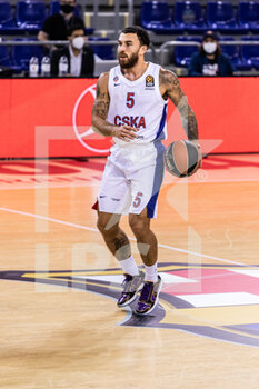01/10/2020 - Mike James of CSKA Moscow during the Turkish Airlines EuroLeague Basketball match between Fc Barcelona and CSKA Moscow on October 01, 2020 at Palau Blaugrana in Barcelona, Spain - Photo Javier Borrego / Spain DPPI / DPPI - FC BARCELONA VS CSKA MOSCOW - EUROLEAGUE - BASKET