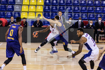 01/10/2020 - Will Clyburn of CSKA Moscow during the Turkish Airlines EuroLeague Basketball match between Fc Barcelona and CSKA Moscow on October 01, 2020 at Palau Blaugrana in Barcelona, Spain - Photo Javier Borrego / Spain DPPI / DPPI - FC BARCELONA VS CSKA MOSCOW - EUROLEAGUE - BASKET