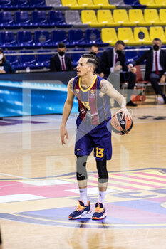 01/10/2020 - Thomas Heurtel of Fc Barcelona during the Turkish Airlines EuroLeague Basketball match between Fc Barcelona and CSKA Moscow on October 01, 2020 at Palau Blaugrana in Barcelona, Spain - Photo Javier Borrego / Spain DPPI / DPPI - FC BARCELONA VS CSKA MOSCOW - EUROLEAGUE - BASKET