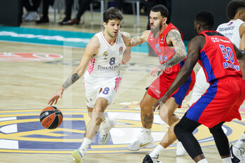 Real Madrid and CSKA Moscow - EUROLEAGUE - BASKET