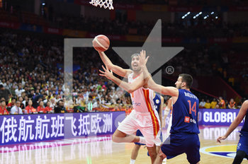 08/09/2019 - Pierre Oriola - CHINA BASKETBALL WORLD CUP 2019 - SPAGNA VS SERBIA - INTERNAZIONALI - BASKET