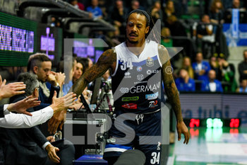 17/11/2019 - David Moss (Brescia) - DE LONGHI TREVISO BASKET VS GERMANI BASKET BRESCIA - SERIE A - BASKET
