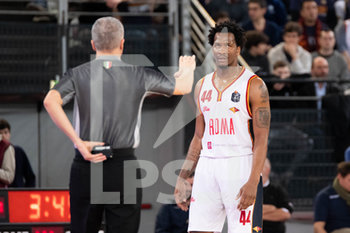 24/11/2019 - William Buford (Virtus Roma) perplesso - VIRTUS ROMA VS DE LONGHI TREVISO - SERIE A - BASKET