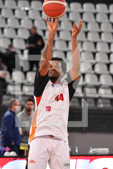 08/12/2019 - William Buford (Virtus Roma) al riscaldamento - VIRTUS ROMA VS PALLACANESTRO TRIESTE - SERIE A - BASKET