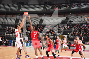 08/12/2019 - William BUFORD ala (Virtus Roma) al tiro - VIRTUS ROMA VS PALLACANESTRO TRIESTE - SERIE A - BASKET