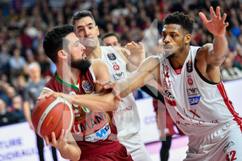 15/12/2019 - Jeffrey Brooks dell' AX Armani Exchange Olimpia Milano - UMANA REYER VENEZIA VS AX ARMANI EXCHANGE OLIMPIA MILANO - SERIE A - BASKET