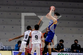 19/01/2021 - Daulton Hommes (Vanoli Cremona) at throw - VANOLI CREMONA VS A|X ARMANI EXCHANGE MILANO - SERIE A - BASKET