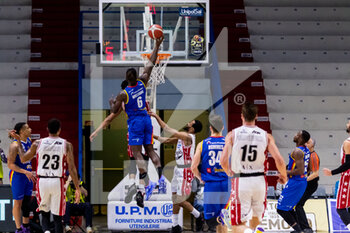 19/01/2021 - Jarvis Williams (Vanoli Cremona) in action - VANOLI CREMONA VS A|X ARMANI EXCHANGE MILANO - SERIE A - BASKET