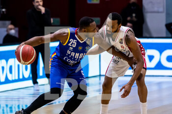 19/01/2021 - David R. Cournooh (Vanoli Cremona) in action - VANOLI CREMONA VS A|X ARMANI EXCHANGE MILANO - SERIE A - BASKET