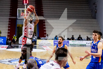 19/01/2021 - Malcom Delaney (A|X Armani Exchange Milano) in action - VANOLI CREMONA VS A|X ARMANI EXCHANGE MILANO - SERIE A - BASKET