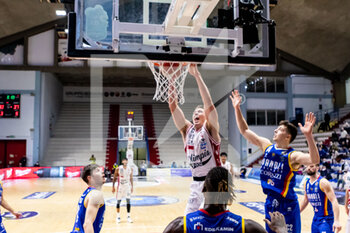 19/01/2021 - Kaleb Tarczewski (A|X Armani Exchange Milano) in action - VANOLI CREMONA VS A|X ARMANI EXCHANGE MILANO - SERIE A - BASKET