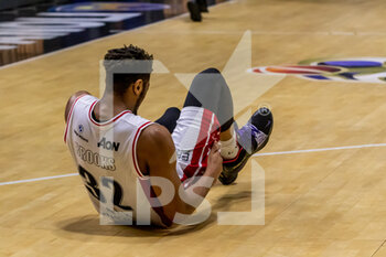 19/01/2021 - Jeff Brooks (A|X Armani Exchange Milano) - VANOLI CREMONA VS A|X ARMANI EXCHANGE MILANO - SERIE A - BASKET