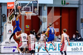 19/01/2021 - Marcus Lee (Vanoli Cremona) in action - VANOLI CREMONA VS A|X ARMANI EXCHANGE MILANO - SERIE A - BASKET
