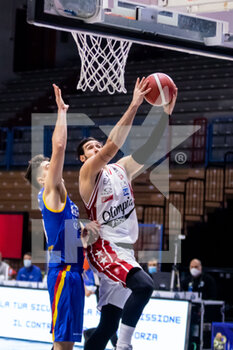 19/01/2021 - Riccardo Moraschini (A|X Armani Exchange Milano) in action - VANOLI CREMONA VS A|X ARMANI EXCHANGE MILANO - SERIE A - BASKET