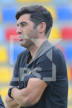 09/09/2020 - All. Paolo Fonseca ( Roma ) - FROSINONE VS ROMA - AMICHEVOLI - CALCIO