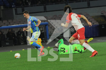NAPOLI -vs SAILISBURGO - EUROPA LEAGUE - CALCIO