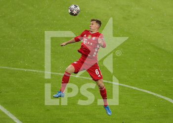 07/04/2021 - Joshua Kimmich of Bayern Munich during the UEFA Champions League, quarter final, 1st leg football match between Bayern Munich and Paris Saint-Germain on April 7, 2021 at Allianz Arena in Munich, Germany - Photo Marcel Engelbrecht / firo Sportphoto / DPPI - BAYERN MUNICH VS PARIS SAINT-GERMAIN - UEFA CHAMPIONS LEAGUE - CALCIO
