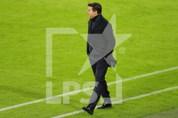 07/04/2021 - Coach Mauricio Pochettino of Paris Saint-Germain during the UEFA Champions League, quarter final, 1st leg football match between Bayern Munich and Paris Saint-Germain on April 7, 2021 at Allianz Arena in Munich, Germany - Photo Marcel Engelbrecht / firo Sportphoto / DPPI - BAYERN MUNICH VS PARIS SAINT-GERMAIN - UEFA CHAMPIONS LEAGUE - CALCIO