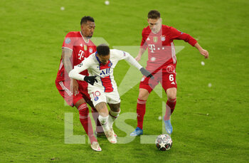 07/04/2021 - Neymar of Paris Saint-Germain and Jerome Boateng, Joshua Kimmich of Bayern Munich during the UEFA Champions League, quarter final, 1st leg football match between Bayern Munich and Paris Saint-Germain on April 7, 2021 at Allianz Arena in Munich, Germany - Photo Marcel Engelbrecht / firo Sportphoto / DPPI - BAYERN MUNICH VS PARIS SAINT-GERMAIN - UEFA CHAMPIONS LEAGUE - CALCIO