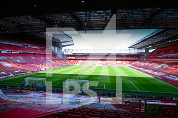 12/09/2020 - General inside view during the English championship Premier League football match between Liverpool and Leeds United on September 12, 2020 at Anfield in Liverpool, England - Photo Malcolm Bryce / ProSportsImages / DPPI - LIVERPOOL VS LEEDS UNITED - ENGLISH PREMIER LEAGUE - CALCIO