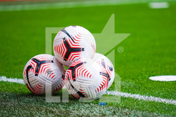 12/09/2020 - Official Nike balls during the English championship Premier League football match between Liverpool and Leeds United on September 12, 2020 at Anfield in Liverpool, England - Photo Malcolm Bryce / ProSportsImages / DPPI - LIVERPOOL VS LEEDS UNITED - ENGLISH PREMIER LEAGUE - CALCIO