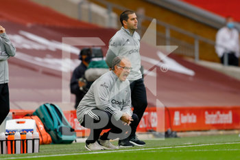 12/09/2020 - Leeds United Manager Marcelo Bielsa during the English championship Premier League football match between Liverpool and Leeds United on September 12, 2020 at Anfield in Liverpool, England - Photo Simon Davies / ProSportsImages / DPPI - LIVERPOOL VS LEEDS UNITED - ENGLISH PREMIER LEAGUE - CALCIO
