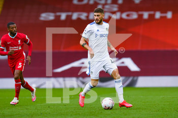 12/09/2020 - Leeds United midfielder Mateusz Klich (43) in action during the English championship Premier League football match between Liverpool and Leeds United on September 12, 2020 at Anfield in Liverpool, England - Photo Malcolm Bryce / ProSportsImages / DPPI - LIVERPOOL VS LEEDS UNITED - ENGLISH PREMIER LEAGUE - CALCIO