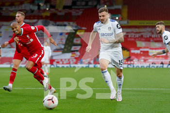 12/09/2020 - Leeds United defender Stuart Dallas (15) during the English championship Premier League football match between Liverpool and Leeds United on September 12, 2020 at Anfield in Liverpool, England - Photo Simon Davies / ProSportsImages / DPPI - LIVERPOOL VS LEEDS UNITED - ENGLISH PREMIER LEAGUE - CALCIO