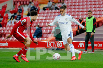 12/09/2020 - Leeds United forward Tyler Roberts (11) during the English championship Premier League football match between Liverpool and Leeds United on September 12, 2020 at Anfield in Liverpool, England - Photo Simon Davies / ProSportsImages / DPPI - LIVERPOOL VS LEEDS UNITED - ENGLISH PREMIER LEAGUE - CALCIO