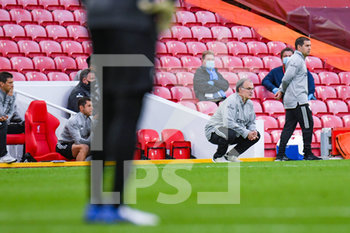 12/09/2020 - Marcelo Bielsa, coach of Leeds United during the English championship Premier League football match between Liverpool and Leeds United on September 12, 2020 at Anfield in Liverpool, England - Photo Malcolm Bryce / ProSportsImages / DPPI - LIVERPOOL VS LEEDS UNITED - ENGLISH PREMIER LEAGUE - CALCIO