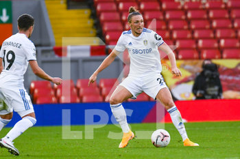 12/09/2020 - Leeds United defender Luke Ayling (2) in action during the English championship Premier League football match between Liverpool and Leeds United on September 12, 2020 at Anfield in Liverpool, England - Photo Malcolm Bryce / ProSportsImages / DPPI - LIVERPOOL VS LEEDS UNITED - ENGLISH PREMIER LEAGUE - CALCIO