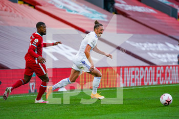 12/09/2020 - Leeds United defender Luke Ayling (2) and Liverpool midfielder Georginio Wijnaldum (5) during the English championship Premier League football match between Liverpool and Leeds United on September 12, 2020 at Anfield in Liverpool, England - Photo Malcolm Bryce / ProSportsImages / DPPI - LIVERPOOL VS LEEDS UNITED - ENGLISH PREMIER LEAGUE - CALCIO