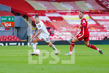 12/09/2020 - Leeds United midfielder Kalvin Phillips (23) and Liverpool midfielder Jordan Henderson (14) in action during the English championship Premier League football match between Liverpool and Leeds United on September 12, 2020 at Anfield in Liverpool, England - Photo Malcolm Bryce / ProSportsImages / DPPI - LIVERPOOL VS LEEDS UNITED - ENGLISH PREMIER LEAGUE - CALCIO