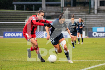 Paris FC vs Dijon FCO - FRENCH WOMEN DIVISION 1 - CALCIO