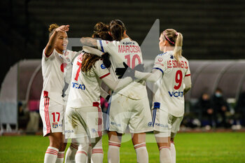 Paris FC and Olympique Lyonnais - FRENCH WOMEN DIVISION 1 - CALCIO