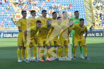 27/06/2019 - Players of Romania line up - UEFA EUROPEAN UNDER-21 CHAMPIONSHIP 2019 - SEMIFINALS MATCH BETWEEN GERMANY AND ROMANIA - INTERNAZIONALI - CALCIO