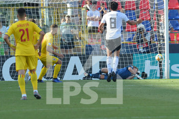 27/06/2019 - Romania´s George Puscas scores the goal on penality for 1 - 1  - UEFA EUROPEAN UNDER-21 CHAMPIONSHIP 2019 - SEMIFINALS MATCH BETWEEN GERMANY AND ROMANIA - INTERNAZIONALI - CALCIO