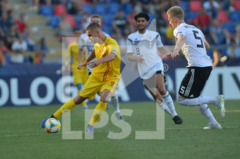 27/06/2019 - Romania´s George Puscas in action - UEFA EUROPEAN UNDER-21 CHAMPIONSHIP 2019 - SEMIFINALS MATCH BETWEEN GERMANY AND ROMANIA - INTERNAZIONALI - CALCIO