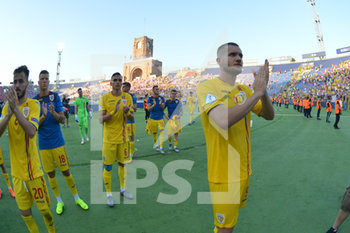 27/06/2019 - Romania´s players greet the fans with George Puscas (R) - UEFA EUROPEAN UNDER-21 CHAMPIONSHIP 2019 - SEMIFINALS MATCH BETWEEN GERMANY AND ROMANIA - INTERNAZIONALI - CALCIO