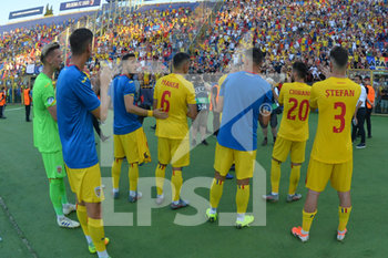 27/06/2019 - Romania´s players greet the fans - UEFA EUROPEAN UNDER-21 CHAMPIONSHIP 2019 - SEMIFINALS MATCH BETWEEN GERMANY AND ROMANIA - INTERNAZIONALI - CALCIO